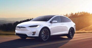 Tesla range model S