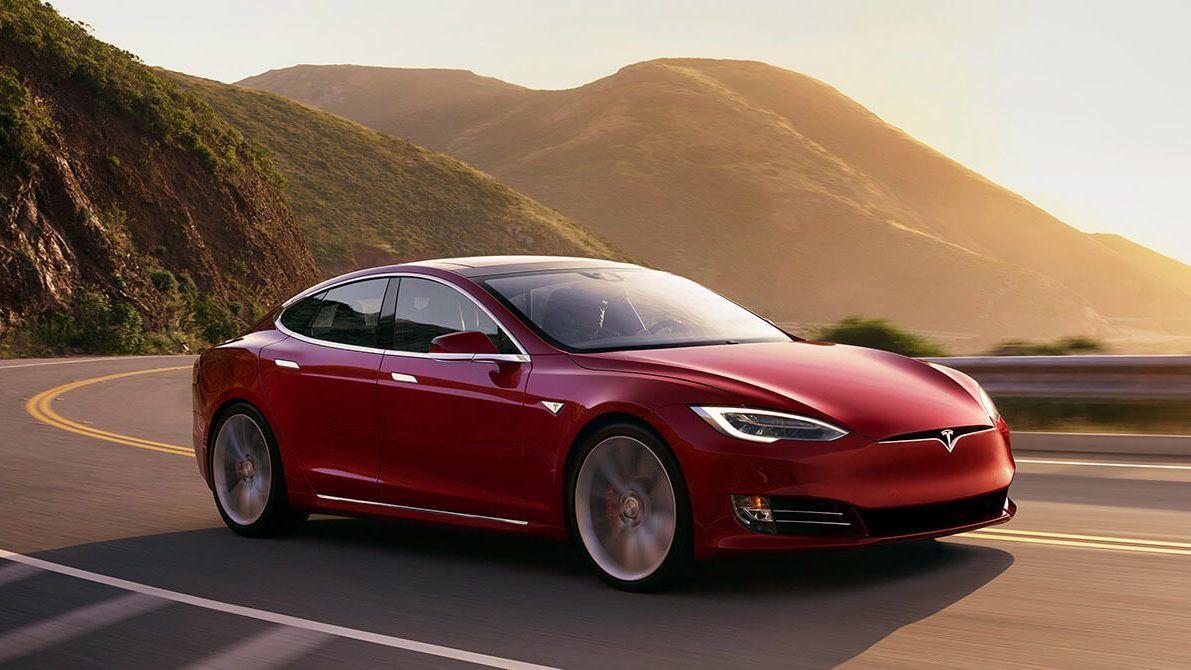 Tesla Model S Tesla sun visor