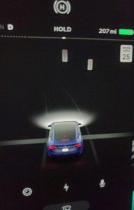 Tesla red light detection