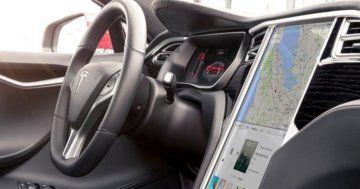 Tesla Interieur emmc MCU