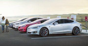 Tesla Trip planning range