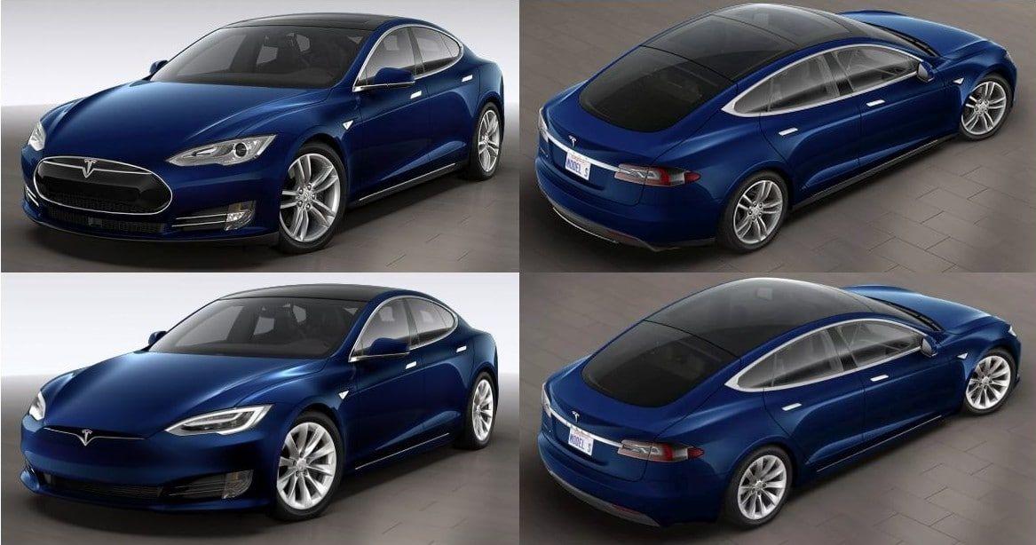 Tesla Model S Facelift differences