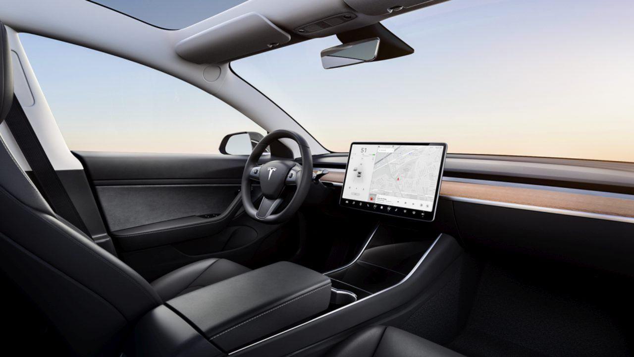 Tesla Model 3 interior differences compared