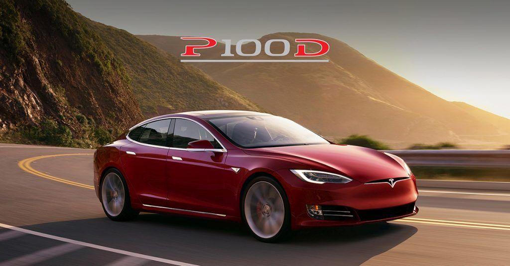 Red P100D Model S