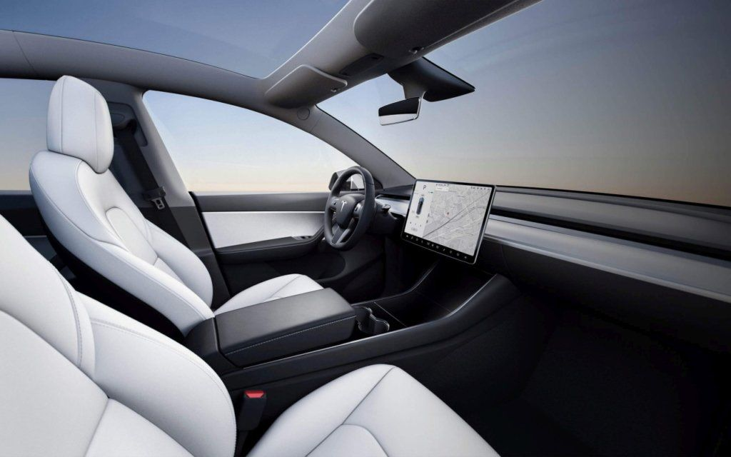 Tesla Model Y Interieur