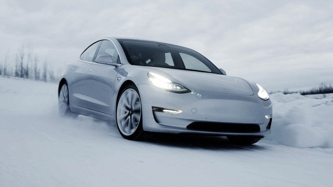 Tesla Model 3 Winter