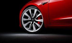 Tesla Model 3 Performance calipers