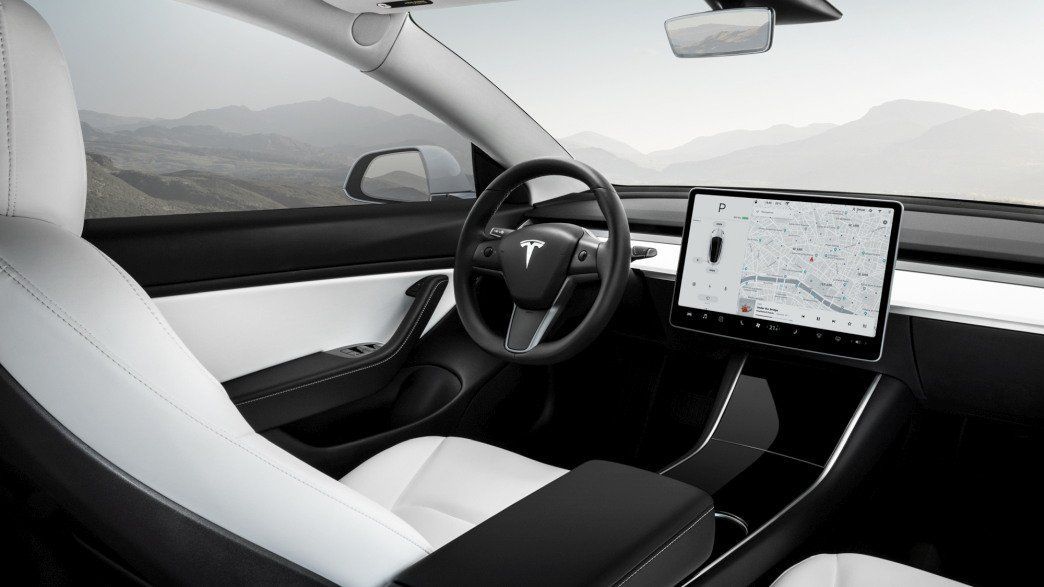 Tesla Model 3 vehicle configurations