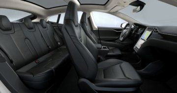 Tesla Model S Interieur configurations