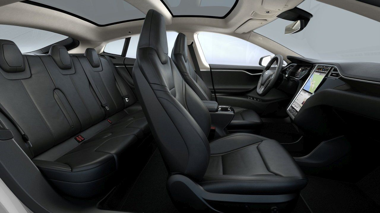 Tesla Model S Interieur configurations