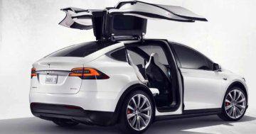Tesla Model X configurations