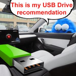 Tesla USB Flash Drive Recommendations