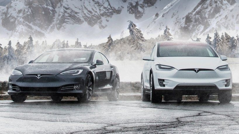 Tesla Model S and X Winter lower range