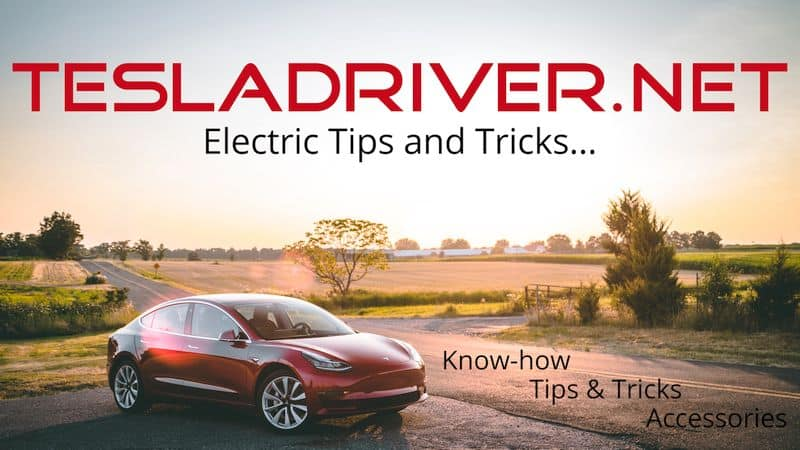 Tesladriver.net Logo Tips and Tricks about Tesla cars