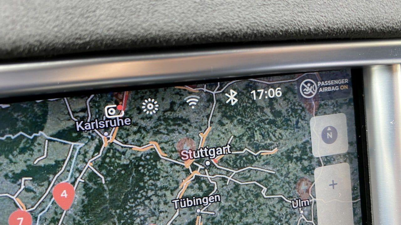 Tesla WiFi reception