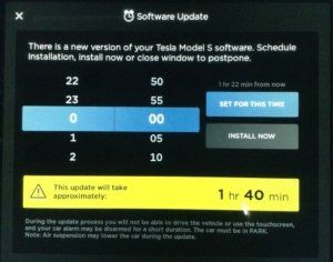 Tesla Software Updates
