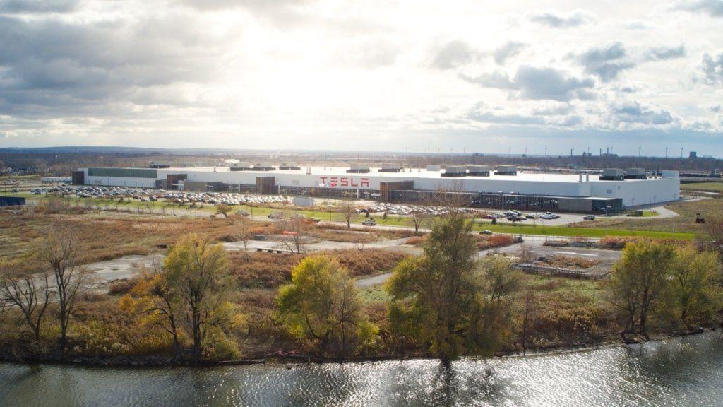Tesla Gigafactory Buffalo New York