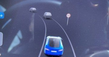 Tesla speed limit sign recognition