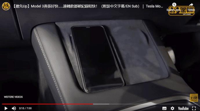 Tesla Model 3 Refresh Tesla Model 3 Refresh Mobile Phone Tray