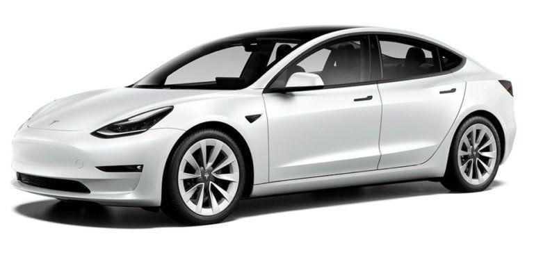 Tesla Model 3 Long Range Refresh Facelift 2021