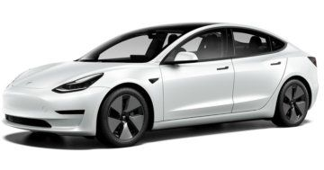Tesla Model 3 Short Range Plus Refresh Facelift 2021
