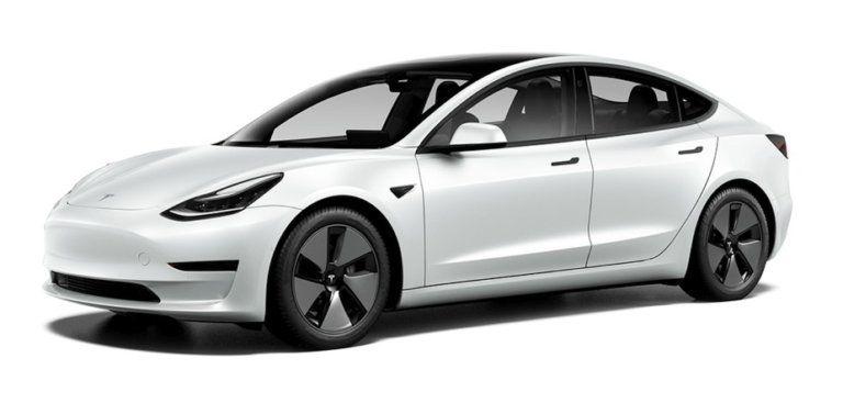 Tesla Model 3 Short Range Plus Refresh Facelift 2021