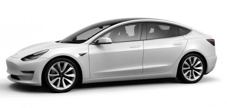 Tesla Model 3 Long Range pre-facelift