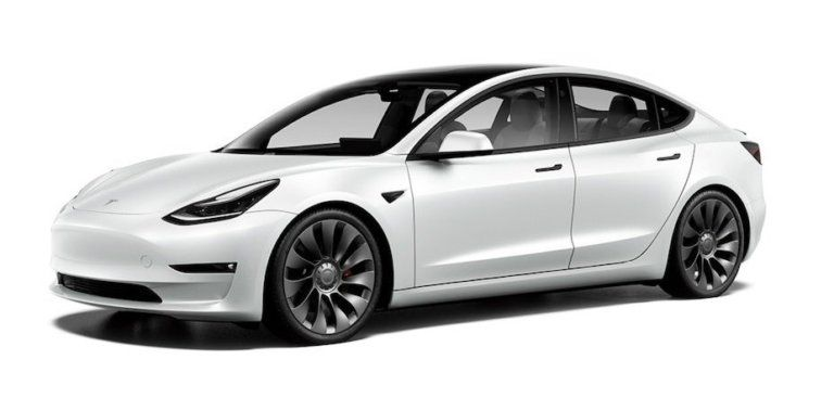 Tesla Model 3 Performance Refresh Facelift 2021