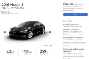 New Tesla Model 3 vs. Used Model S