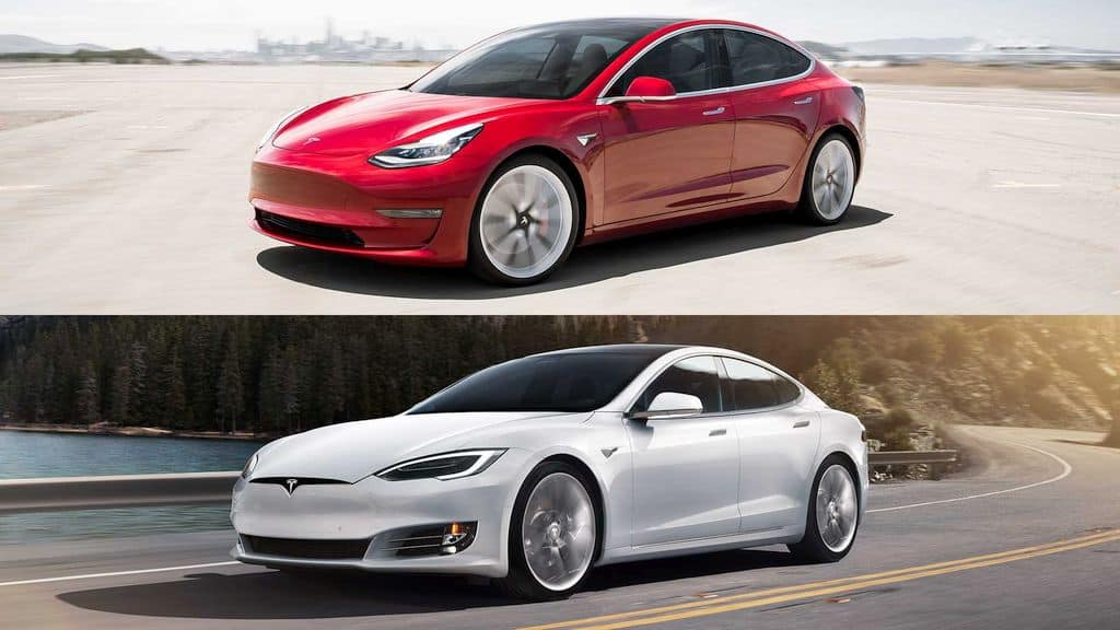 Buy a used Tesla Model S or a new Model 3